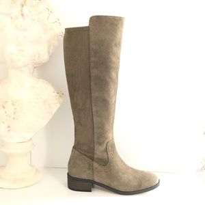 Sole Society Calvenia Suede Leather Boot